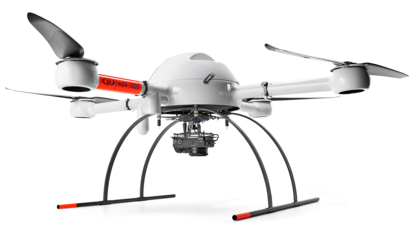 Microdrones mdMapper1000 for academic research