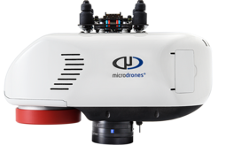Riegl miniVUX-1DL laser scanner used for the mdLiDAR3000 integrated system