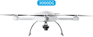 Microdrones mdMapper3000DG Integrated System low front view