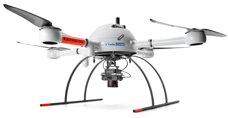 mdMapper1000DG integrated system with a Microdrones md4-1000 UAV