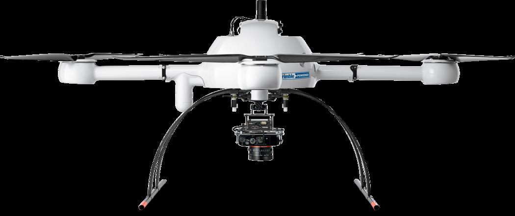 Microdrones mdMapper1000DG low front view md4-1000
