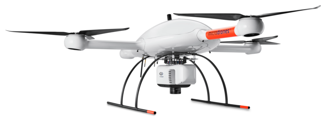 Microdrones md4-3000 mdLiDAR3000 Riegl miniVUX-1UAV Laser scanner