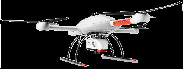Microdrones md4-3000 mdLiDAR3000DL Riegl miniVUX-1DL Laser scanner