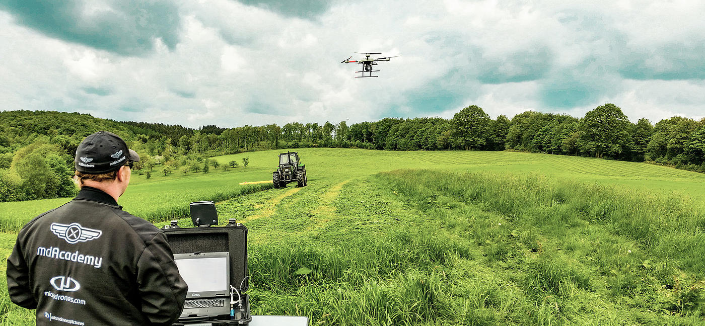 Drones And Precision Agriculture The Future Of Farming