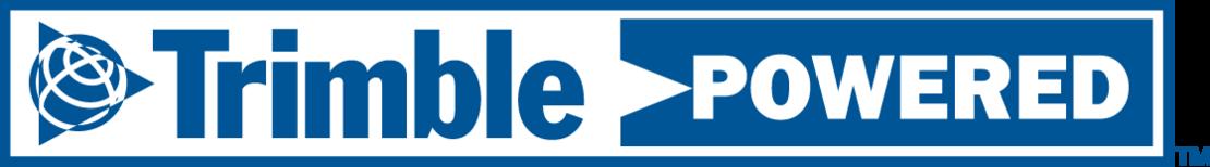 Logo Trimble powered
